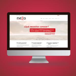 Diseño y desarrollo para la web de Nexo
