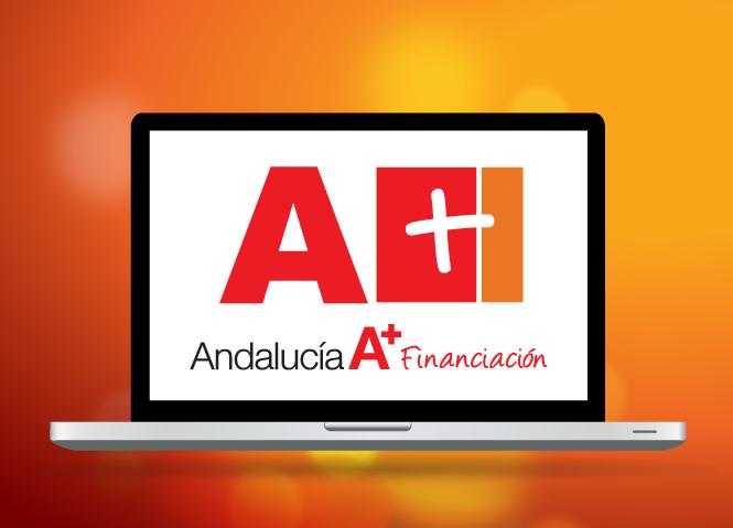Andalucía A+ Financiación: Diseño de logotipo