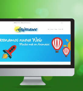 Diseño y desarrollo de la web para Animasoc