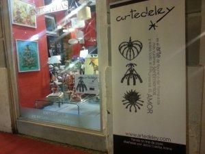 Diseño de Roll up para la tienda Artedeley