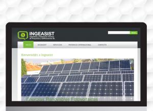 Diseño y desarrollo de la web de INGEASIST