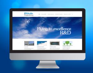 Diseño y desarrollo de la Web para Skylife-Engineering