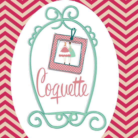 Desde nuestra agencia de publicidad hemos realizado el diseño del logotipo para la tienda de moda, Coquette, acessories shop for women.
