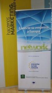 Diseño Roll Up para Agencia Andaluza del Conocimiento