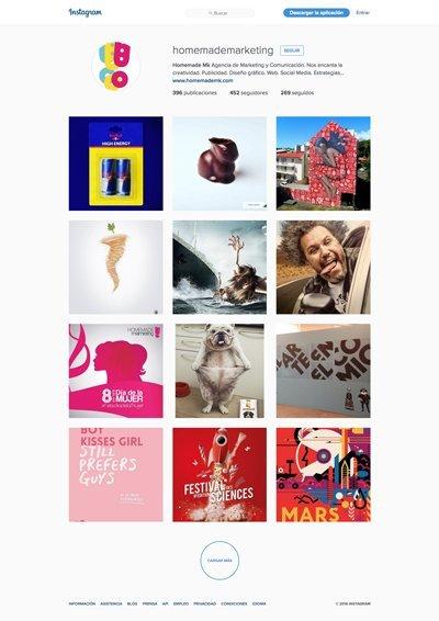 Instagram Homemade Marketing