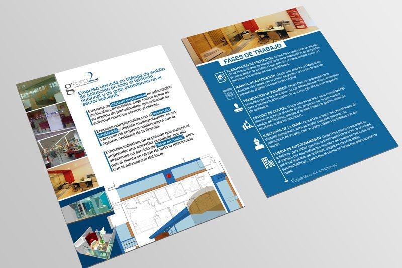 diseño de folletos