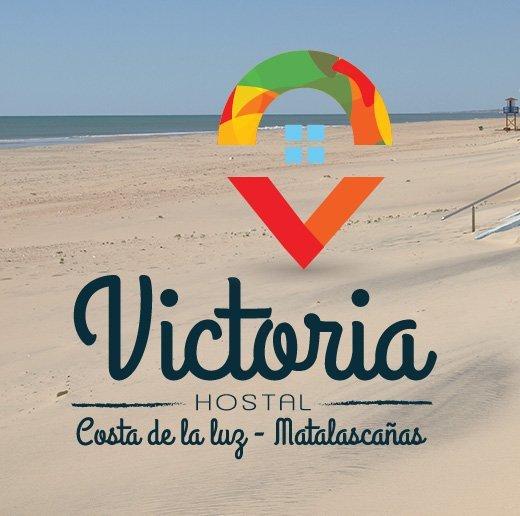 Logotipo hostal Victoria