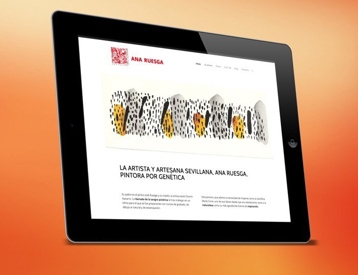 diseño Web Ana Ruesga