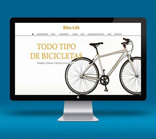 Bike Life. Diseño Tienda Online