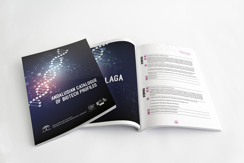 Diseño Catálogo Perfiles Biotecnológicos