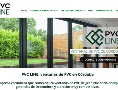 La empresa cordobesa de ventanas PVC Line llega al mundo digital